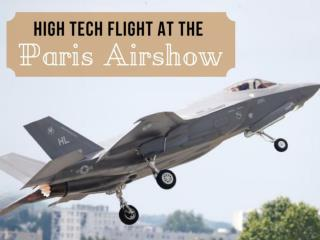 High tech flight at the Paris Airshow