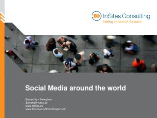 Social networks around the world 2010