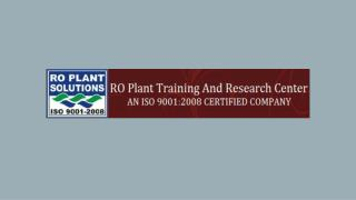 RO Plant Training Services in Nagpur