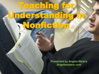 Teaching Nonfiction Reading Strategies
