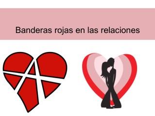 Banderas rojas en las relaciones