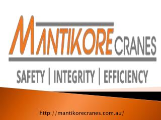 Crane Hire Services In Sydney