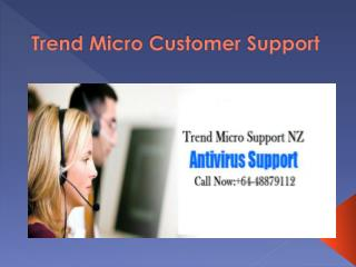 Trend Micro Customer Support Number 6448879112