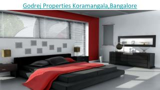 Godrej Koramangala Bangalore - All things about it which you don't know