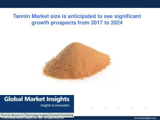 Tannic Market Analysis- Size, Share, Growth, Industry Demand, Forecast