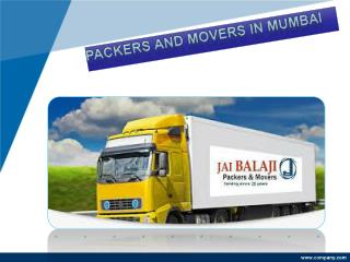 Make Home Relocation Easier with packers and movers Mumbai