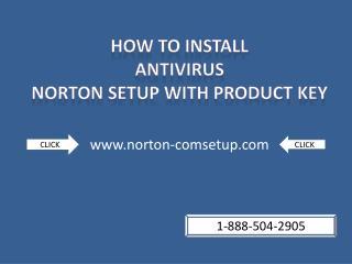 Scan all files using antivirus Norton.com/setup|1-888-504-2905