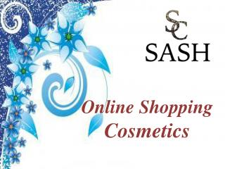 Online Shopping Cosmetics