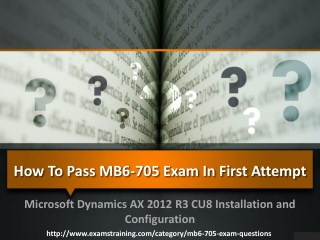 Latest Microsoft mb6-705 Exam Questions