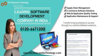 Custom Software Development Company - GA Technocare Technology