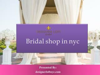 Bridal shop nyc