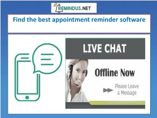 Get the best appointment reminder software