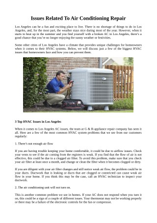Need Professional Air Conditioning Repair Service Provider?