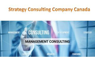 Strategy Consulting Company Canada