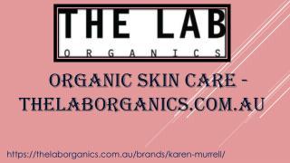 Organic Skin Care - thelaborganics.com.au