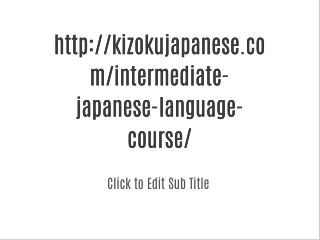 Japanese Language Classes In Delhi NCR