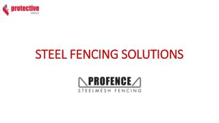 STEEL FENCING SOLUTIONS - BANKSIA STEEL FENCE