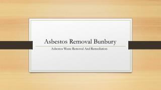 asbestos removal bunbury