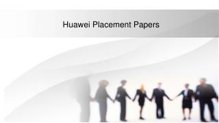 huawei placement papers
