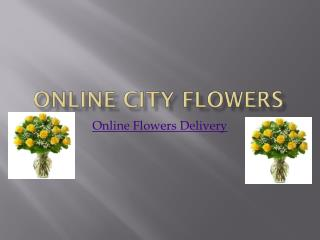 Online Flowers Delivery on Same Day - Online City Flowers