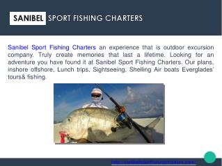 Fishing Trips Day & Night Deep Sea, Shark Fishing, Charter Boats at Sanibel FL