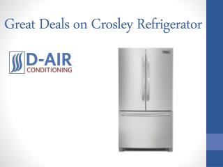 Great Deals on Crosley Refrigerator