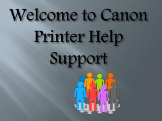 Canon Printer Tech Support Service