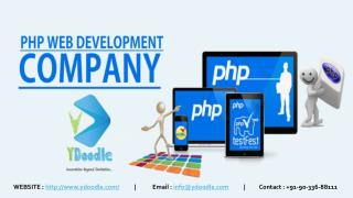 Custom PHP Web Development Company