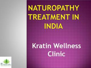 Naturopathy Treatment in India at Reasonable Price