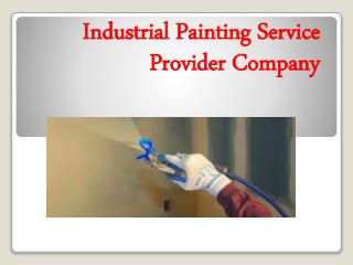 Industrial Painting Service Provider Company
