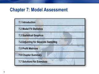 Chapter 7: Model Assessment