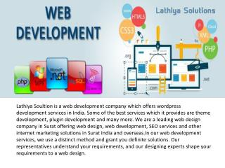 PHP Web Development Company in Surat | Lathiya Solutions