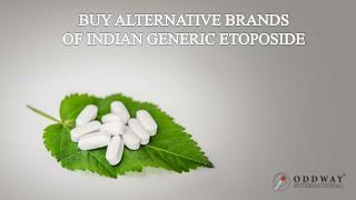 Generic Etoposide 50mg  | Anti Cancer Pharmaceutical Exporter In India