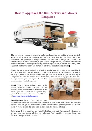 Top 5 Reasons Why You Should Hire Packers and Movers for Shifting