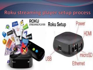 How to setup roku streaming player