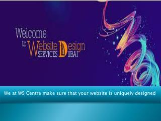 Website Designing Company in Dubai