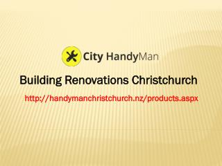 Building Renovations Christchurch