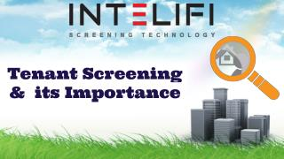 Tenant Screening & its Importance