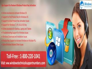 1-800-220-1041 Windows Operating System Support  Number