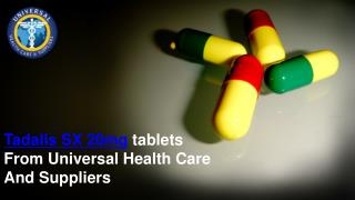 Tadalis SX 20mg Tablets From Universal Health Care And Suppliers