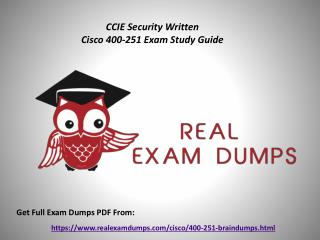 Download Valid Cisco 400-251 Exam Questions - 400-251 Exam Dumps PDF