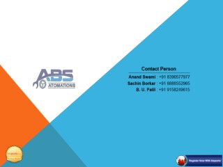 ABS Automations | Manufaturer in Pune