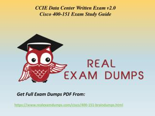 Download Cisco 400-151 Exam Questions - 400-151 Braindumps PDF RealExamDumps.com