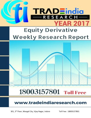 Weekly  Derivative Prediction Report By tradeIndia Research
