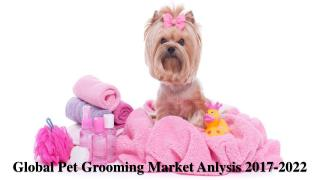 Global Pet Grooming Market Anlysis 2017-2022