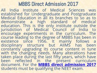 MBBS Direct Admission 2017 in Kolkata West Bengal India