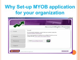 Why Set up MYOB Application For Your Organization