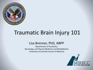 Traumatic Brain Injury 101