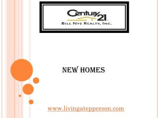 New Homes - www.livingatepperson.com