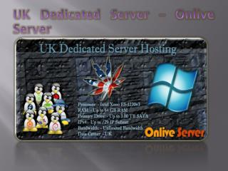 UK Dedicated Server - Onlive Server